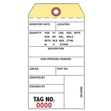 inventory tags