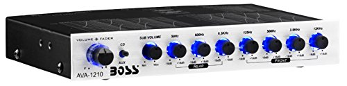 AVA1210 Car Equalizer - 3 Channel - Volume, Fader - 7 Band