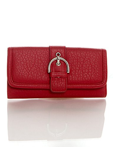 soft-vegan-leather-womens-wallet-long-clutch-purse-card-holder-case-coin-by-ampere-creations