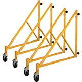 Metaltech 46in. Outrigger for Tall Tower Multi-Purpose 6-Ft. Baker-Style Scaffold - Set of 4, Model# I-CISO4TT