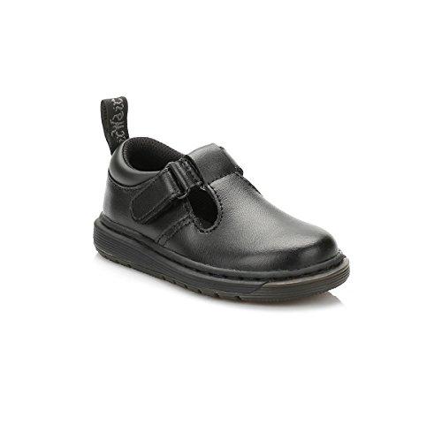 Dr. Martens Enfants Noir Ryan T-Bar Chaussures