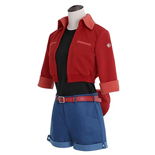 Xcoser Cell at Work Cosplay Erythrocite Red Blood Cell Costume