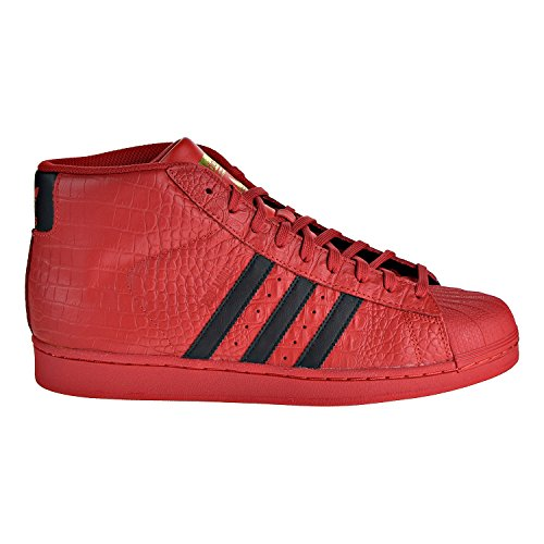 quality design 0a317 3ad36 adidas Originals Pro Model Men s Shoes Red Black cq0873 (7.5 D(M) US)