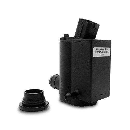 Mean Mug Auto 201525 232316E Windshield Washer Pump W Grommet   For  Hyundai  Kia   Replaces Oem    98510 1C100  98510 26100  98510 1W000  98510 2K000