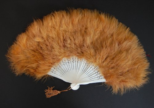 Marabou Feather Fan 12