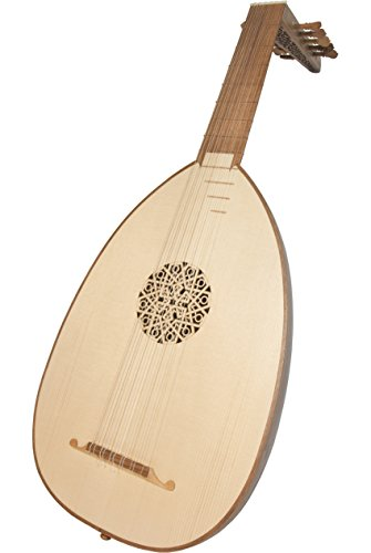 ROOSEBECK DELUXE 6-COURSE WALNUT LUTE w/ GIG BAG by Roosebeck