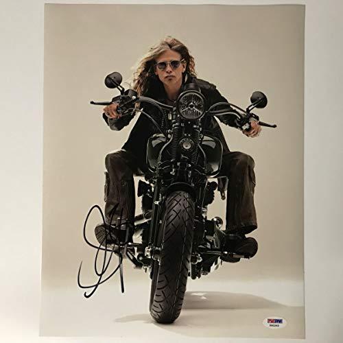 Autographed/Signed Steven Tyler 11x14 Aerosmith Singer Photo PSA/DNA COA Holo ()