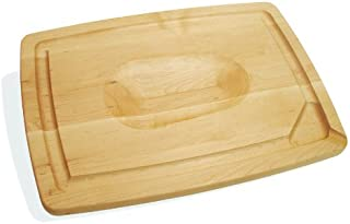 product image for J.K. Adams 20-Inch-by-14-Inch Maple Wood Double-Sided Pour Spout Carving Board