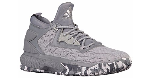 Scarpa Da Basket Adidas D Lillard 2 Da Uomo Chiara Onix-grigio-bianca