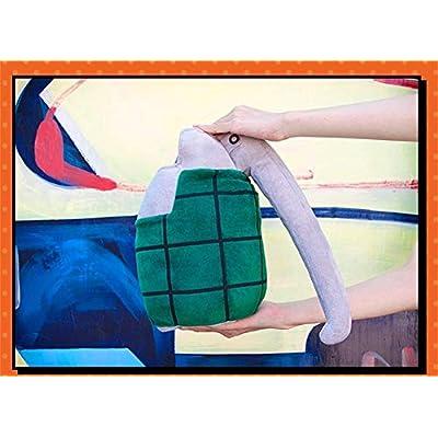 Mikucos Boku no My Hero Academia Katsuki Bakugo Gloves Cosplay Toy Plush Pillow Prop 2pc: Home & Kitchen