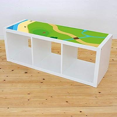 Muebles en adhesivo Juego Wiese – Apto para Ikea Kallax. 3 ...