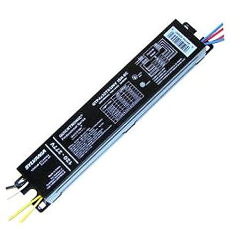 Sylvania 49908 4 Lamp 120V/277V Ballast for 32W T8 Fluorescent ...