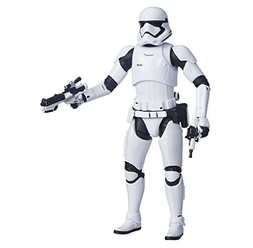 Star Wars Episode VII Black Series Action Figure 2015 First Order Stormtrooper SDCC Exclusive 15 cm Hasbro Figures