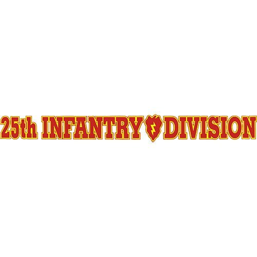 25th infantry division decals - 3