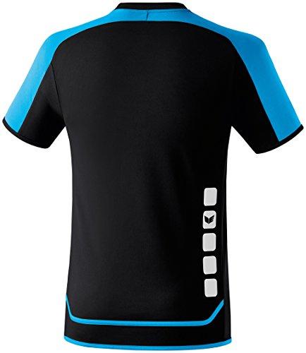 de erima azul 2 Zenari Camiseta negro 0 Trikot fútbol FzqS7z1n