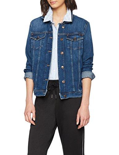 Comfort Trucker Jeans Vivianne Denver Blue Slim Tommy Jacket Dark 911 Giacca Tjw Donna Blu d7I4fwq