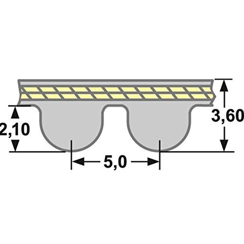 Cinghia dentata HTD 305 5 m 9 mm larghezza Timing Belt cinghia dentata piatta