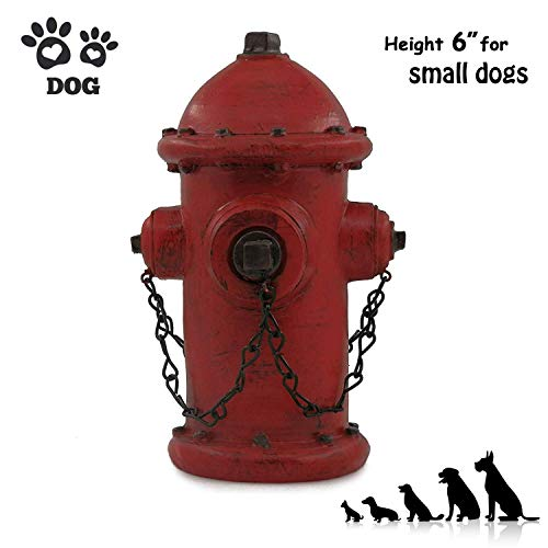 ornerx Resin Fire Hydrant Statue Decor 6