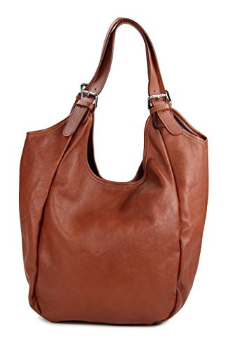 Marrone Belli shopper Rotbraun Borsa Donna qFvwx1F