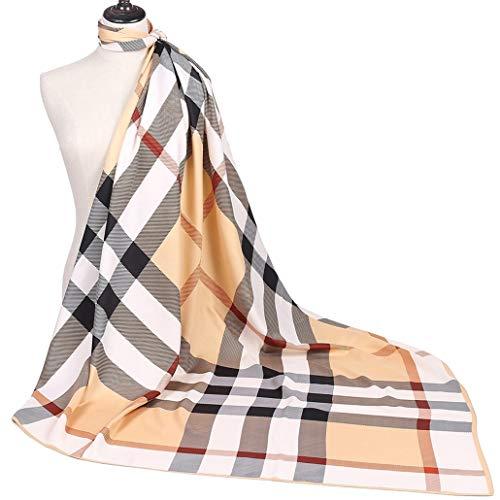 Fashion Designer Silk Scarf For Women 51