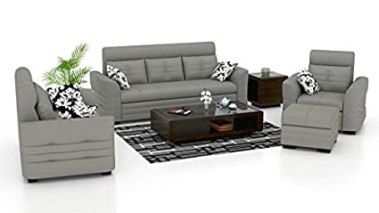 Marvelous Hitech Furniture 3 1 1 Five Seater Sofa Set One Puffy With Cjindustries Chair Design For Home Cjindustriesco
