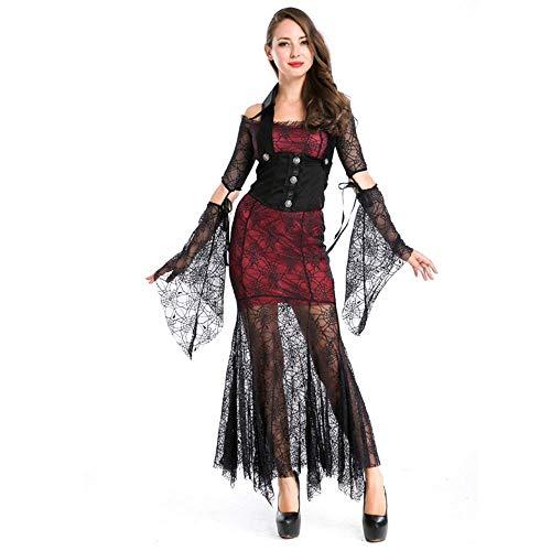 Ambiguity Halloween Costumes Women Queen Change Dress Party Banshee Noble Vampire ()
