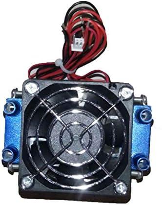 Tivollyff ペルチェ熱電冷蔵庫12V 576W 4チップTEC1-12706 DIY冷凍空冷装置熱電冷却器