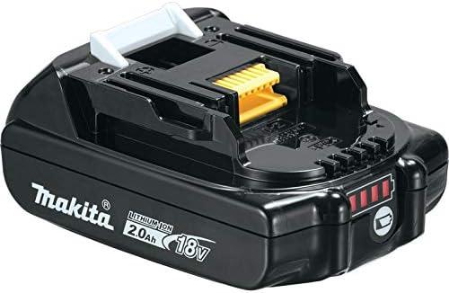Makita 1 2 18V Compact Lithium-Ion Cordless Driver-Drill Kit, XFD10R, Lot of 1