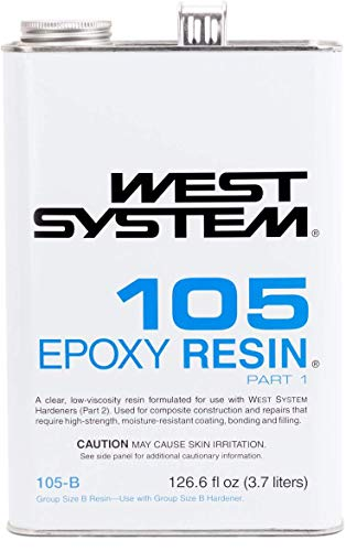 WEST SYSTEM 105 Epoxy Resin (.98Gallon 10.3-Pounds) (West Of Best Project)