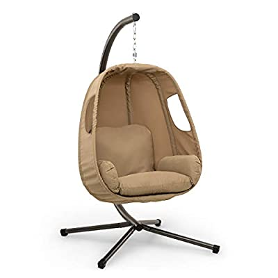 Hanging Snuggle Chair Freestanding