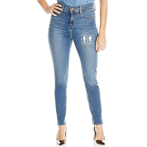 AIYM14 Your Uncle My Uncle Denim Pants For Women,Women's LongsTrousers