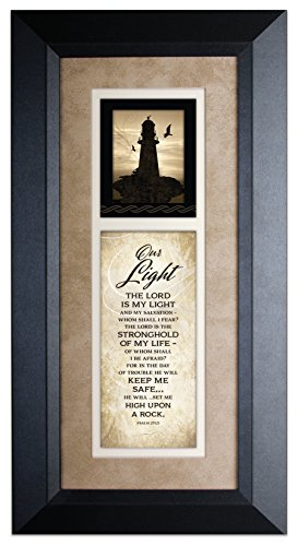 Our Light …Wood Framed Art with Easel ()