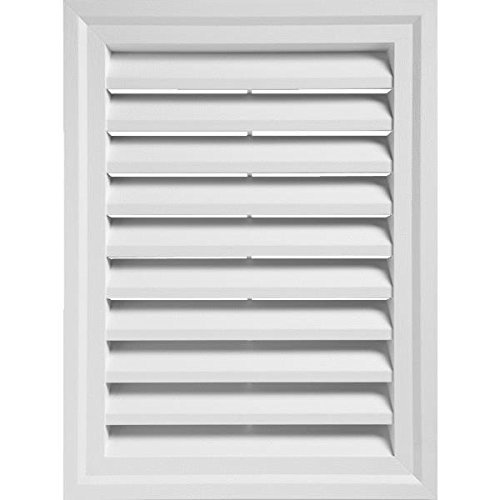 24'' x 30'' Rectangular Gable Vent