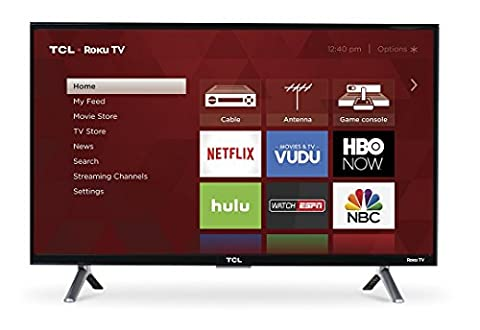 TCL 28S305 28-Inch 720p Roku Smart LED TV (2017 Model) - 32 Class Lcd