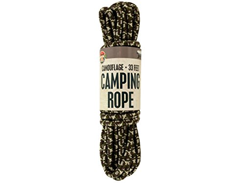 Bulk Buys Camouflage Camping Rope - Pack of 4 ()