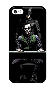 CaseyKBrown Perfect Tpu Case For Iphone 5/5s/ Anti-scratch Protector Case (batman And Joker - The Dark Knight) by mcsharks