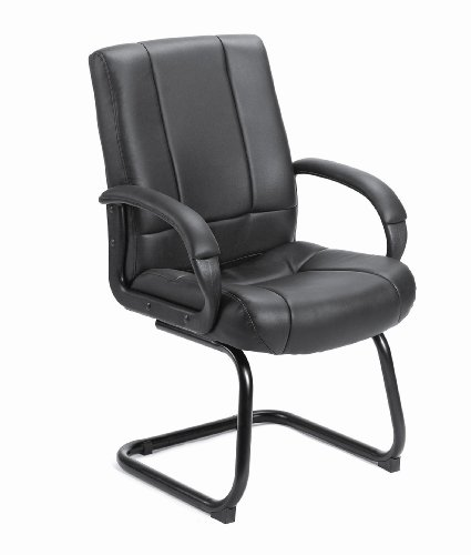 (Boss Office Products B7909 Coressoft Mid Back Guest Chair in)
