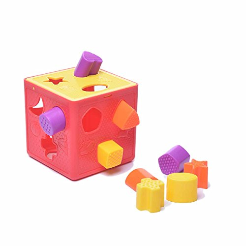 Fu T Baby Blocks Shape Sorter Toy Color Recognition Shape Toys With Colorful Sorter Cube Box Unique Educational Sorting & Matching Toy Baby learning cognitive building blocks toys from Fu T
