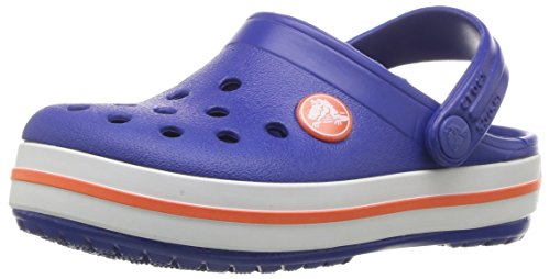 Crocs Kids' Crocband Clog, Cerulean Blue, 13 M US Little -