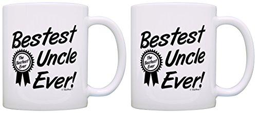 Birthday Uncle Bestest Award Coffee