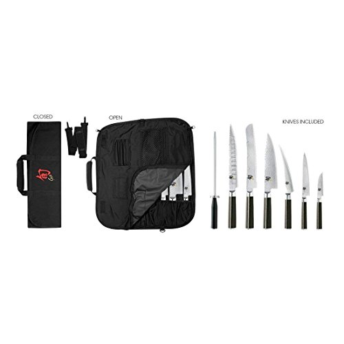 - Shun Classic Student Knife Set With Bonus Kitchen Shears (9 pieces)