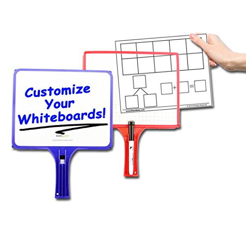 Set of 12 Customizable whiteboards w/dry erase sleeve & interchangeable graphic organizers + BONUS by KleenSlate (Image #4)