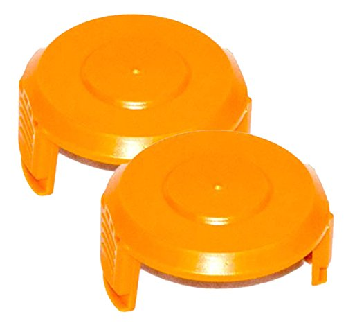 WORX WA6531 GT Trimmer Replacement Spool Cap Covers (2 Pack)