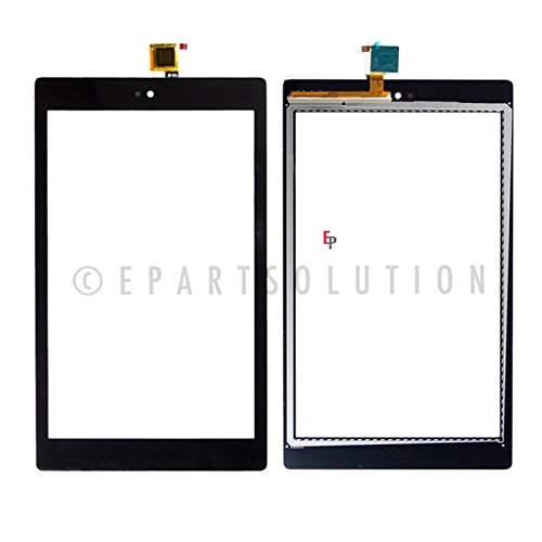 ePartSolution_LCD Display Touch Screen Digitizer Glass Lens For Amazon Kindle Fire HD 8 7th Gen SX034QT Replacement Part (Black)