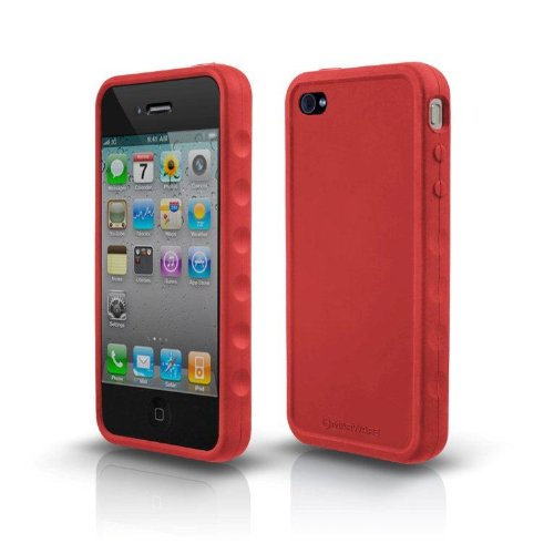 Marware Sport Grip Case for iPhone 4 - Red - Fits AT&T iPhone