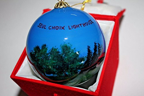SEUL CHOIX LIGHTHOUSE Glass Ball Ornament