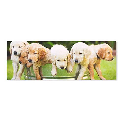 Melissa & Doug Puppy Party Cardboard Jigsaw Puzzle (1000 Pieces)