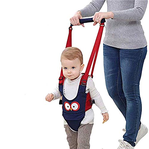 Baby Detachable Walking Harness Baby Walker Breathable Walking Assistant,Handheld,Adjustable Walk Learning Protective Belt for Baby 6-36 Months (Blue)