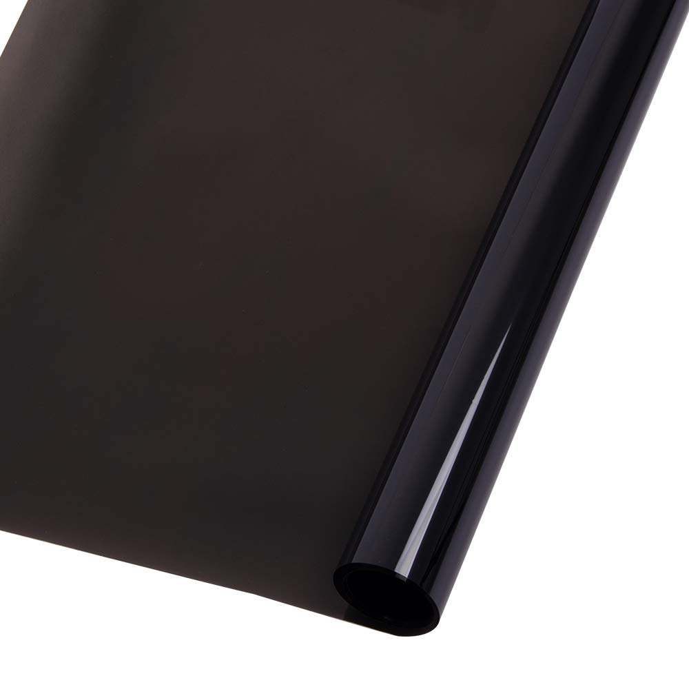 Ho-martカーフィルム ガラスフィルム 車窓ガラスフィルム 車サイド窓フィルム 断熱 窓ガラス断熱フィルム 遮光&遮熱メッシュ 断熱フィルム 紫外線カット UVカットフィルム 無接着剤 静電気の力で吸着 再利用可能 日よけ (152*1000cm, HIR20100) B071NDDG61 HIR20100 152*1000cm