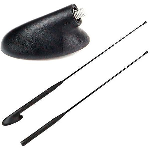 Antena, pie de antena de radio adaptador: Amazon.es: Coche ...